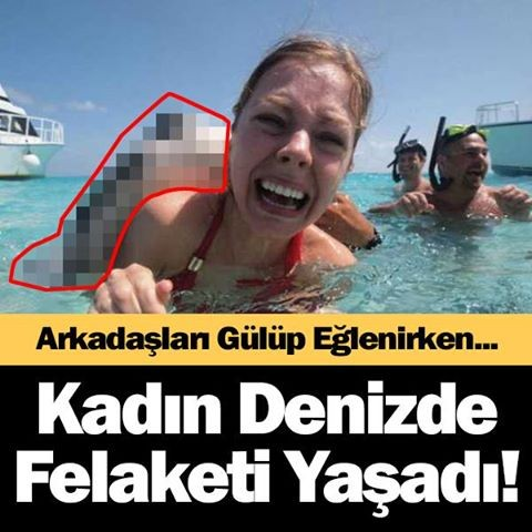 Kadın Denizde Felaketi Yaşadı - 1