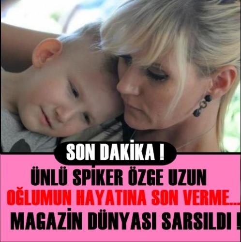 ÜNLÜ SPİKER ÖZGE UZUN MAGAZİN DÜNYASINI SARSTI - 1