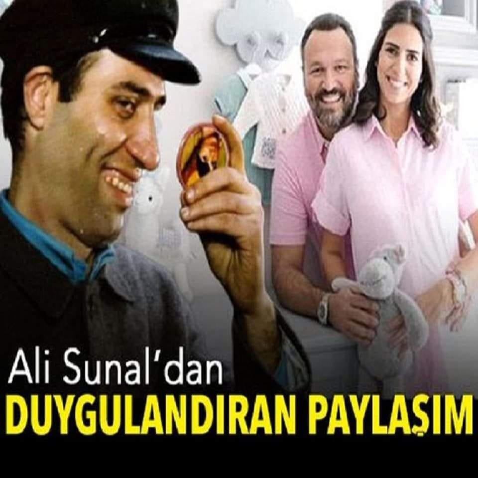 Ali Sunal'dan duygulandıran paylaşımı - 1