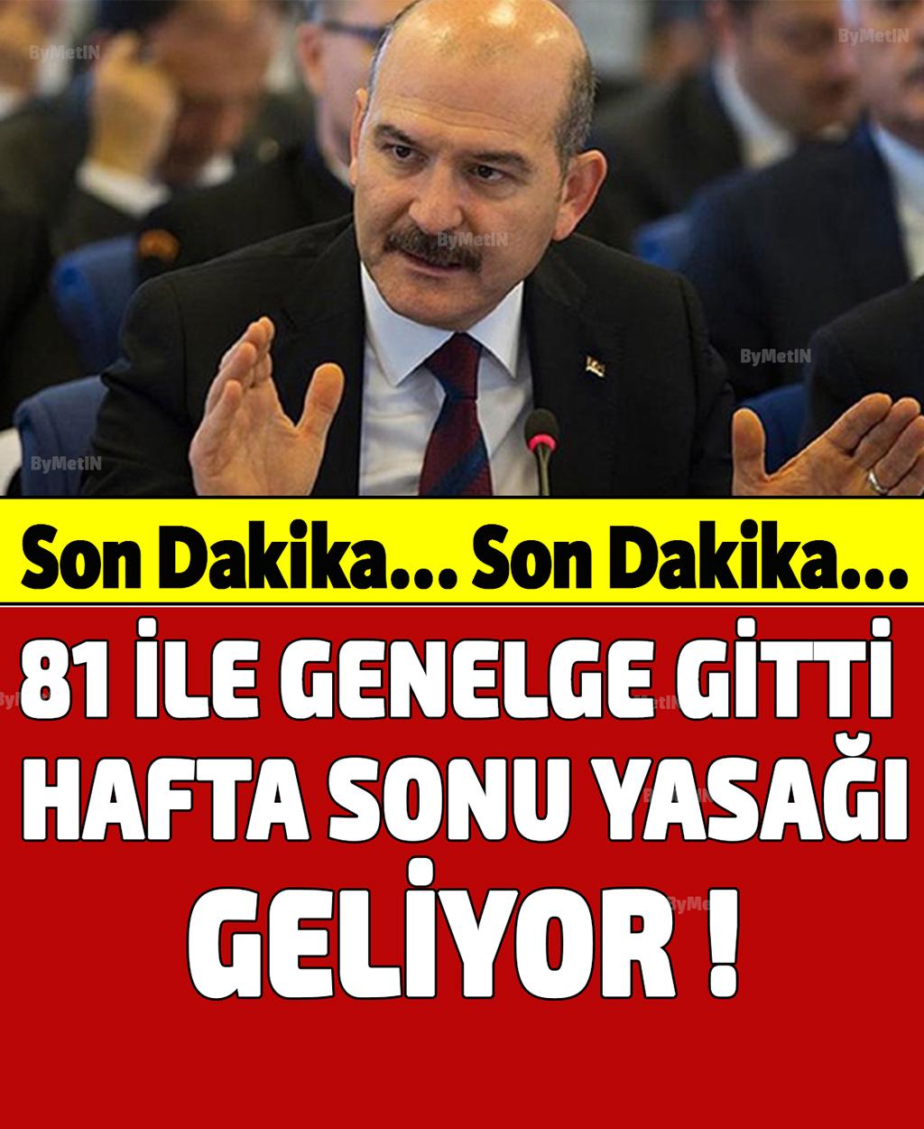 HAFTA SONU YASAK GELİYOR - 1