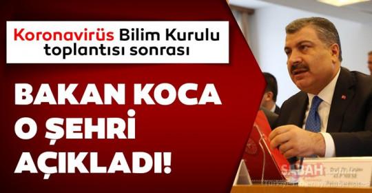 Son dakika haberi Sağlık Bakanı Fahrettin Koca açıkladı