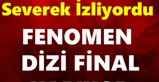 FENOMEN DİZİ FİNAL YAPIYOR