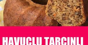 Havuçlu Cevizli Tarçınlı Kek Tarifi