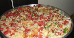 Bayat Ekmek Pizzası Tarifi
