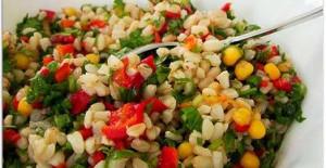 Biberli Buğday Salatası Tarifi