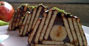 Çizgili Lorlu Pasta Tarifi