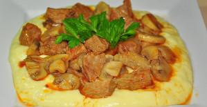 Etli Mantar Kebabı Tarifi