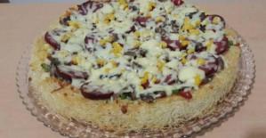 Kadayıflı Pizza Tarifi