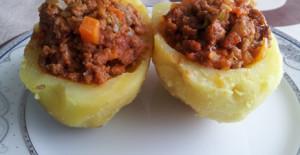 Köfteli Patates Dolması Tarifi