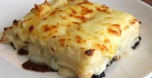 Kremalı Peynirli Fırın Makarna Tarifi