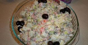 Olivye Salatası Tarifi