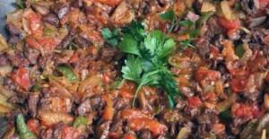 Patlıcanlı Sac Tava Tarifi