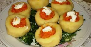 Sebzeli Yoğurtlu Patates Tarifi