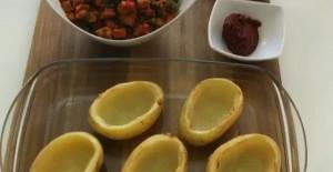 Tavuk Soteli Patates Dolması Tarifi