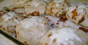 Tavuklu Krep Böreği Tarifi