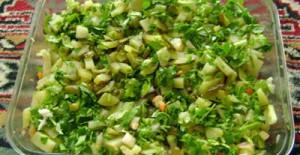 Turşulu Patates Salatası Tarifi