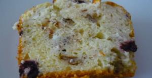 Zeytin ve Peynirli Tuzlu Kek Tarifi