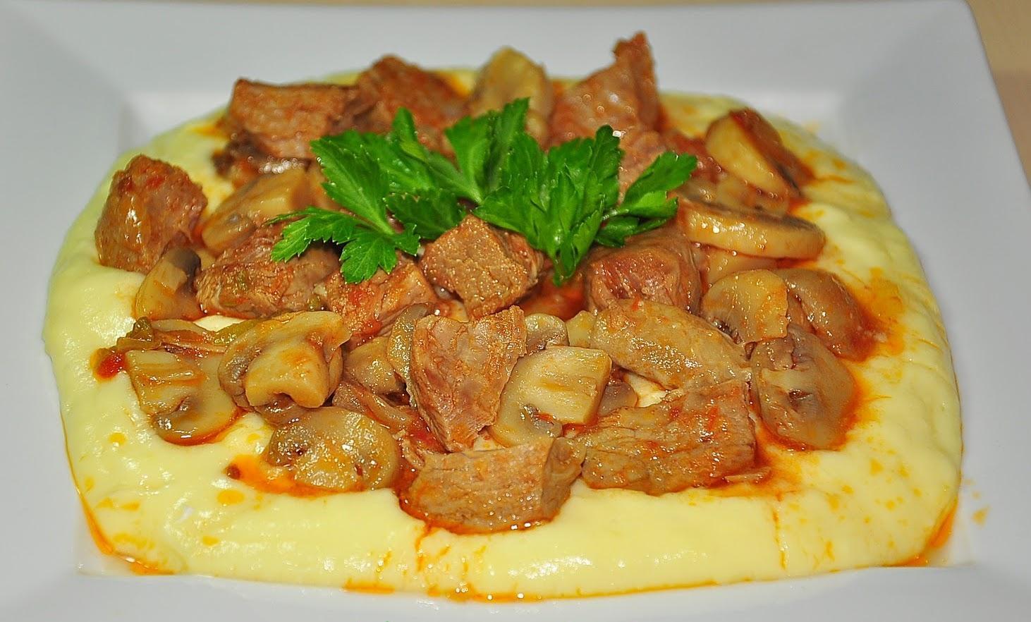 Etli Mantar Kebabı Tarifi - 1