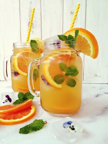 Ev Yapımı Portakallı Limonata Tarifi - 1