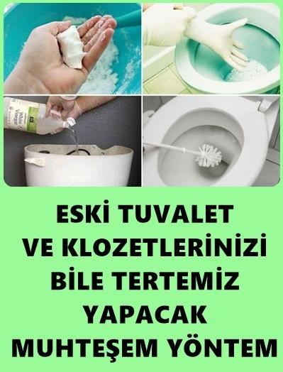 Tuvalet ve Klozet Temizliği Nasıl Yapılır? - 1