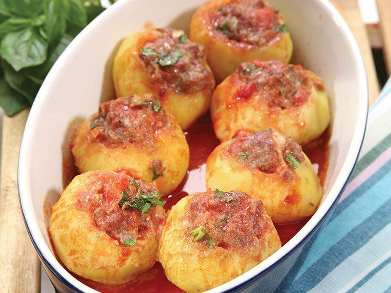 Kıymalı Patates Dolması - 2