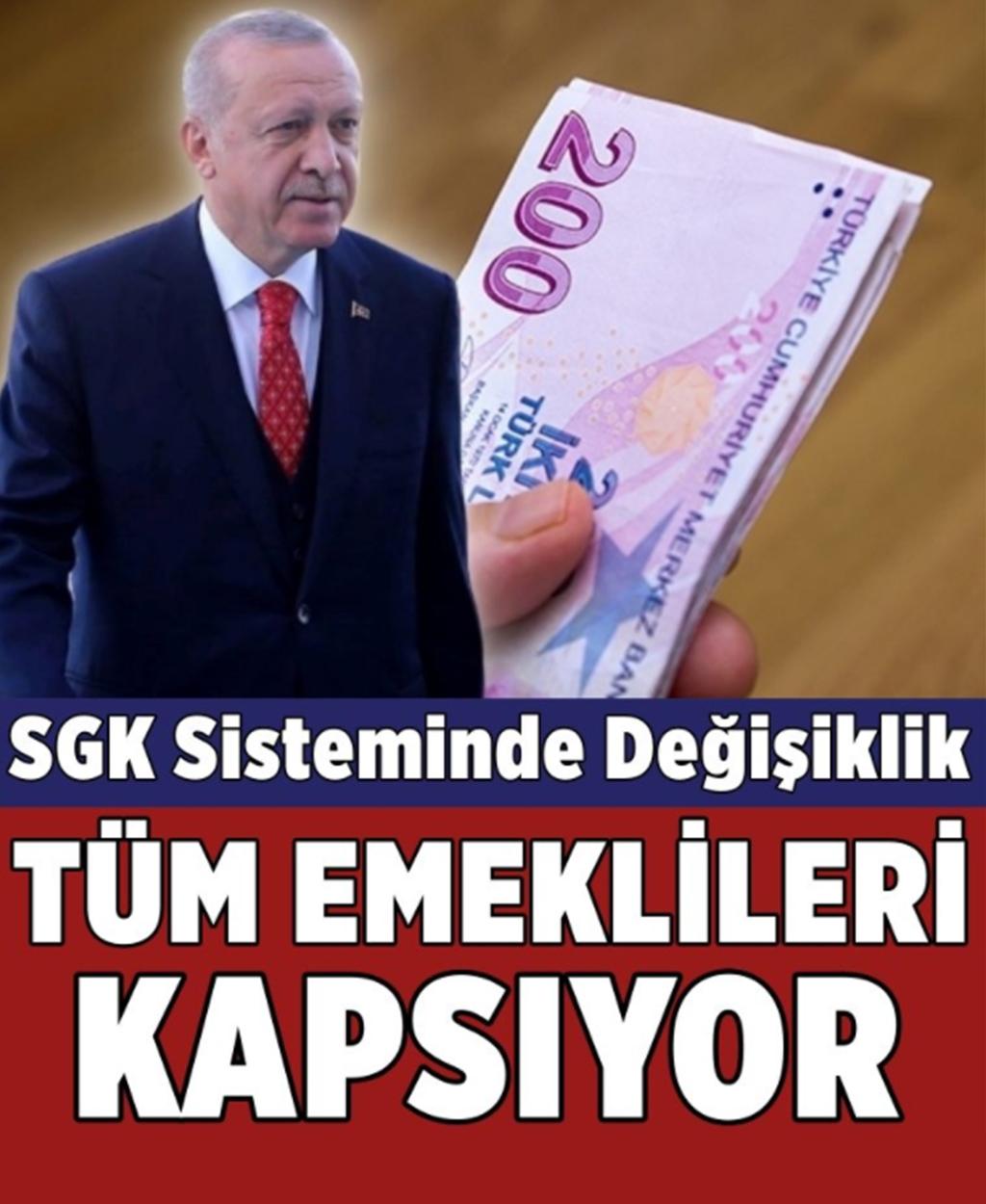 TÜM EMEKLİLERİ KAPSIYOR - 1