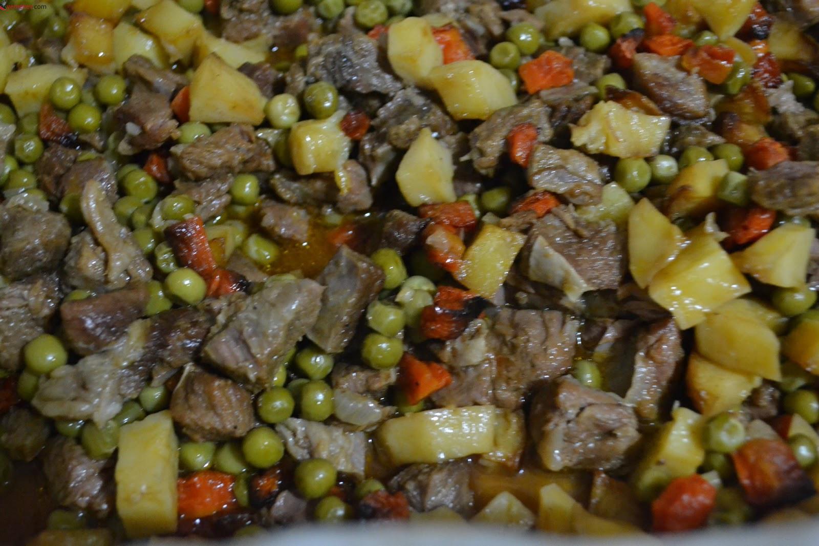 Etli Sebze Kebabı Tarifi - 2