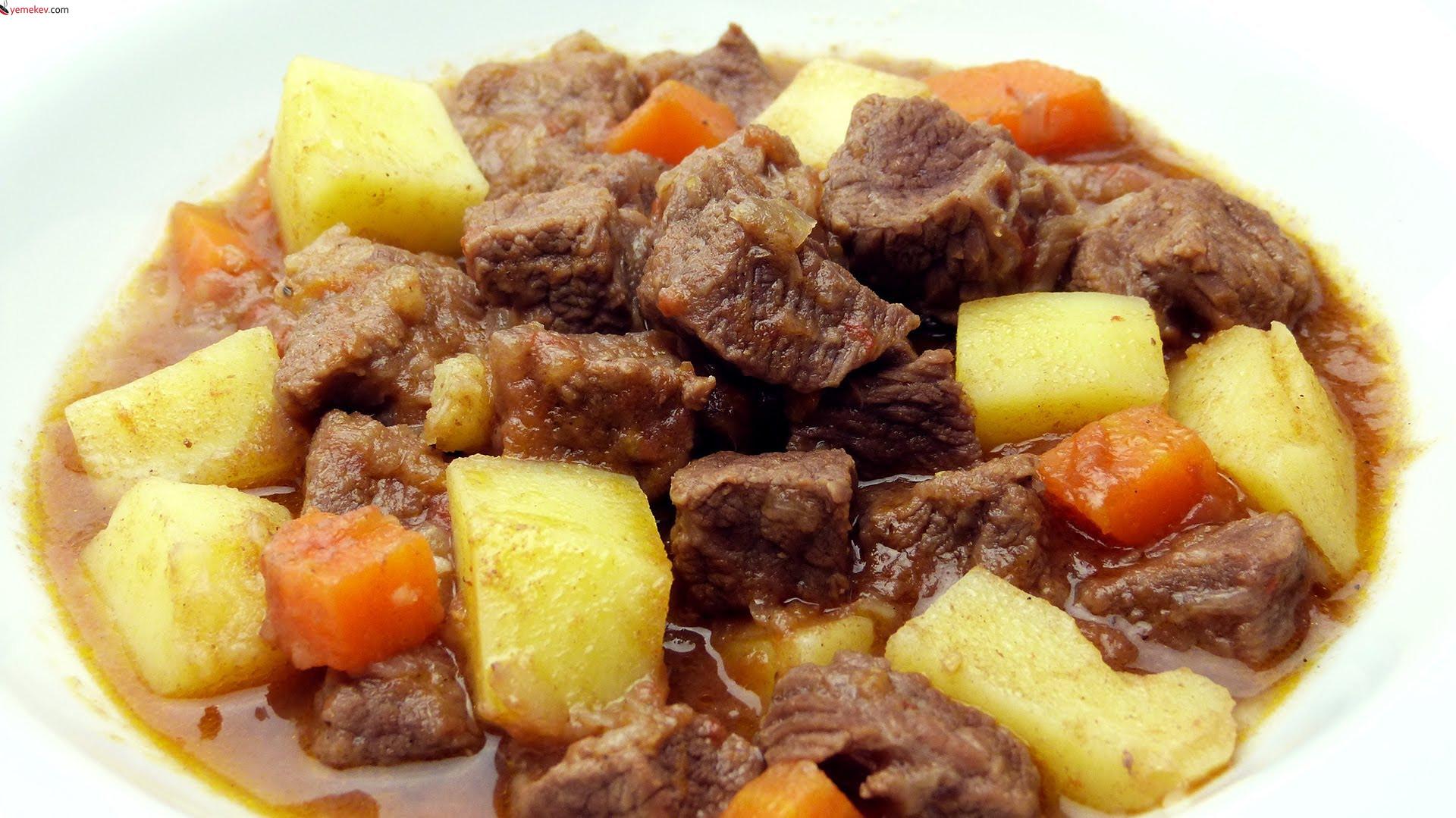 Etli Sebze Kebabı Tarifi - 1