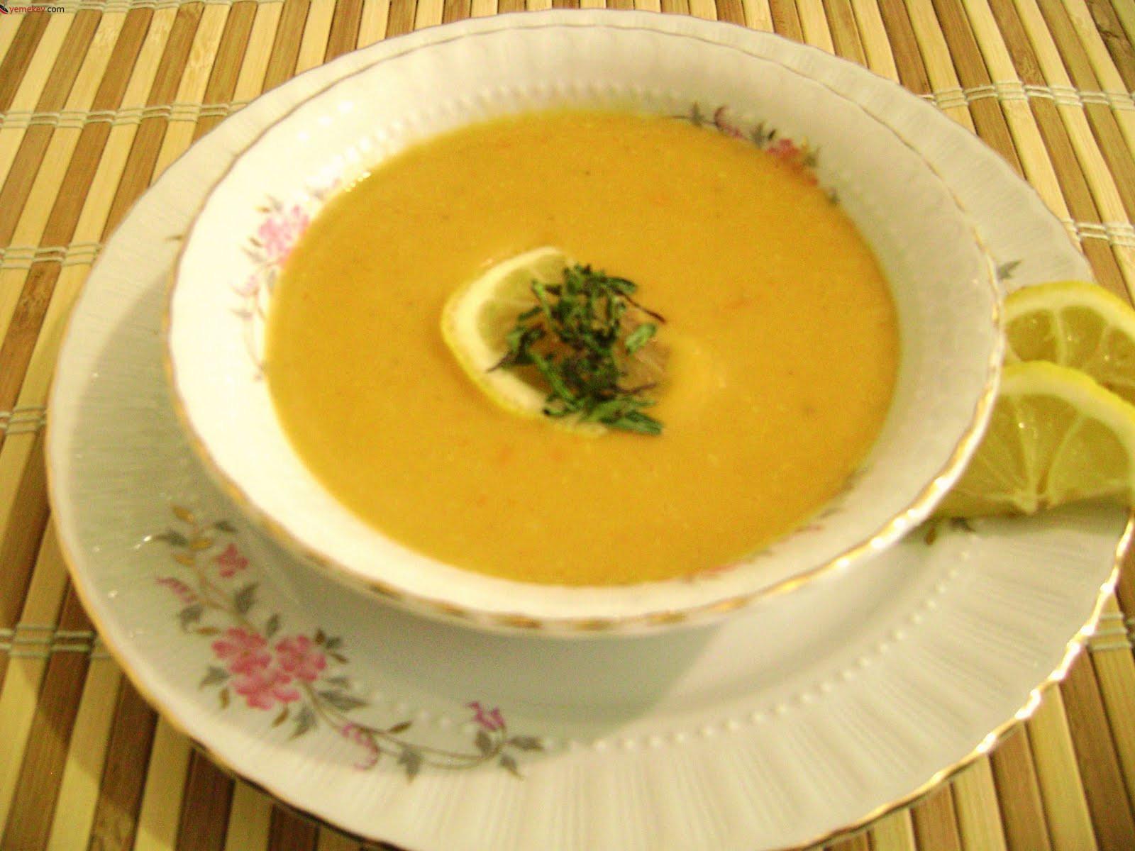 Diyet Buğdaylı Mercimek Çorbası
