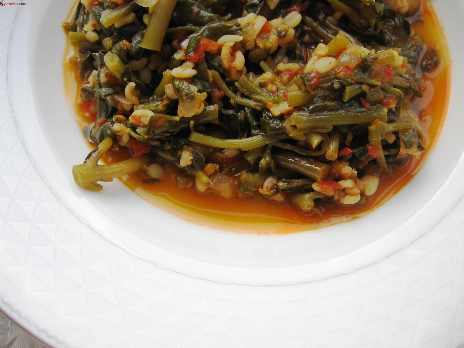 Semizotu Çorbası Tarifi - 1