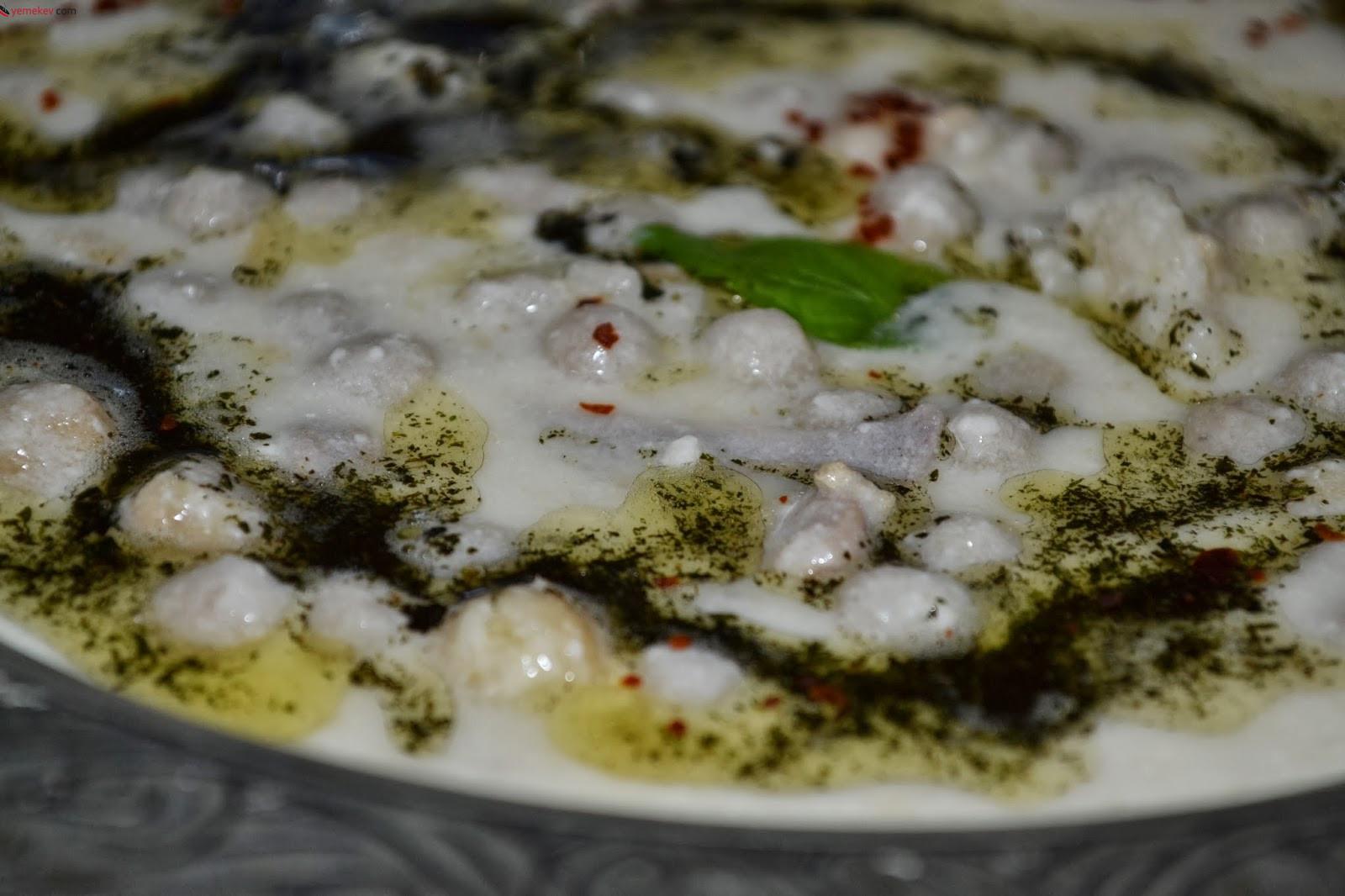 Yoğurtlu Yuvalama Çorbası Tarifi - 1