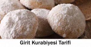 Girit Kurabiyesi Tariifi