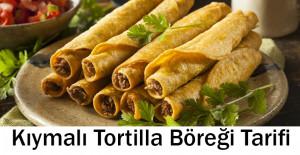 Kıymalı Tortilla Böreği Tarifi