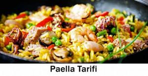 Paella Tarifi