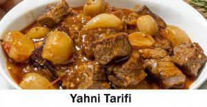 Yahni Tarifi