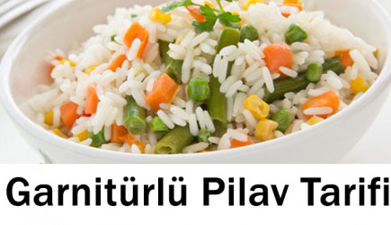 Garnitürlü Pilav Tarifi