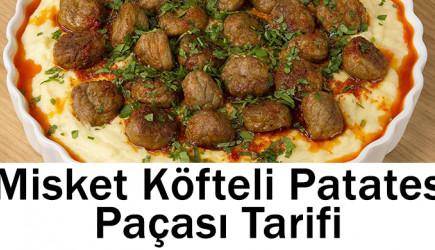 Misket Köfteli Patates Paçası Tarifi