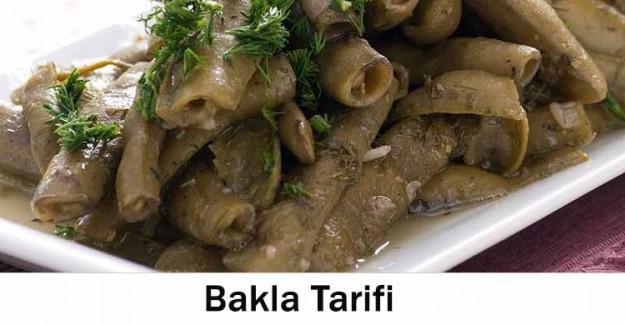 Bakla Tarifi