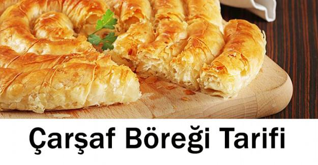 Çarşaf Böreği Tarifi