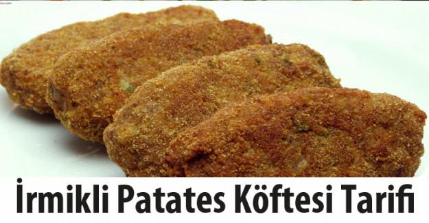 İrmikli Patates Köftesi Tarifi