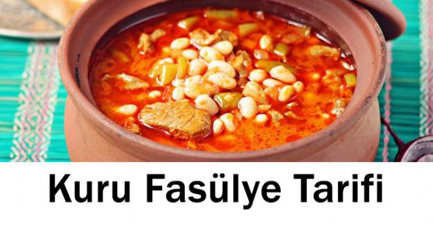 Kuru Fasulye Tarifi
