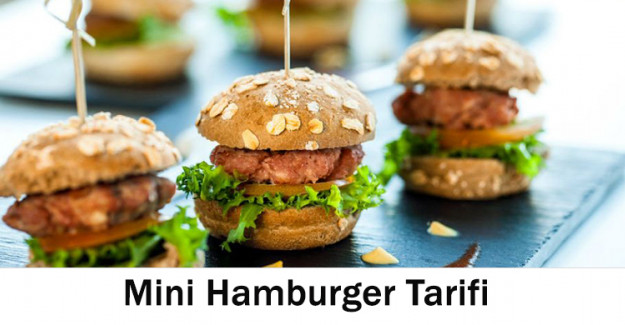 Mini Hamburger Tarifi