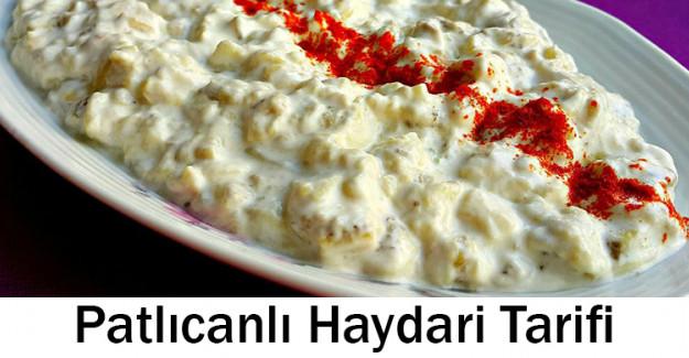 Patlıcanlı Haydari Tarifi