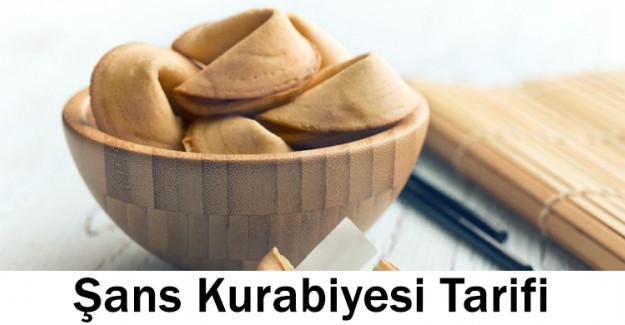 Şans Kurabiyesi Tarifi