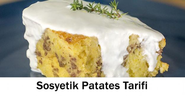 Sosyetik Patates Tarifi