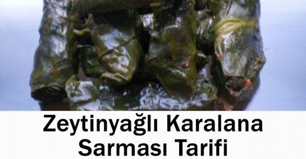 Zeytinyağlı Karalahana Sarması Tarifi