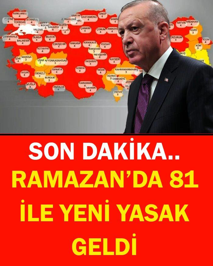 81 İLE YENİ YASAK GELDİ - 1