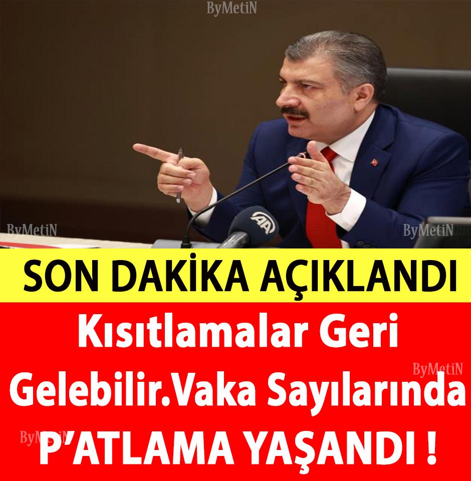 KISITLAMALAR GERİ GELDİ - 1