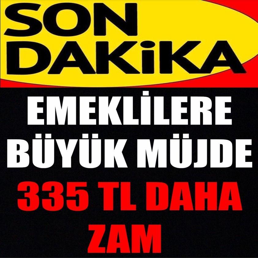 EMEKLİLERE MÜJDE - 1