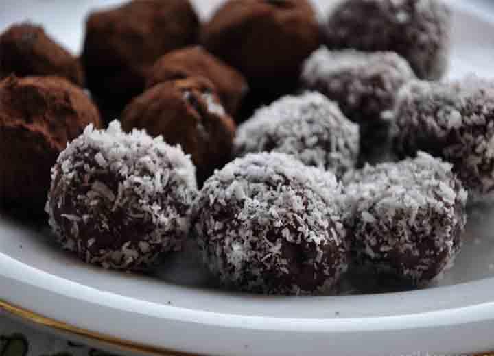 Çikolatalı Toplar Tarifi - 2